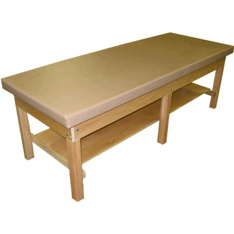 """Bailey Bariatric 2"""" Upholstered Top Wood Treatment Table"""