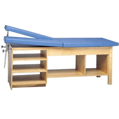Bailey Double Adjustable Leg Rest Treatment Table