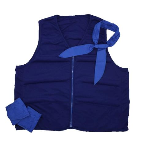 Polar Cool Comfort Deluxe Cooling Vest Kit,0,Each,CCK