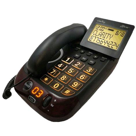 """Clarity AltoPlus Corded Amplified Speakerphone With Digital Extra Loud Caller ID,10.4"""" x 8"""" x 4.4"""",Each,ALTO+"""