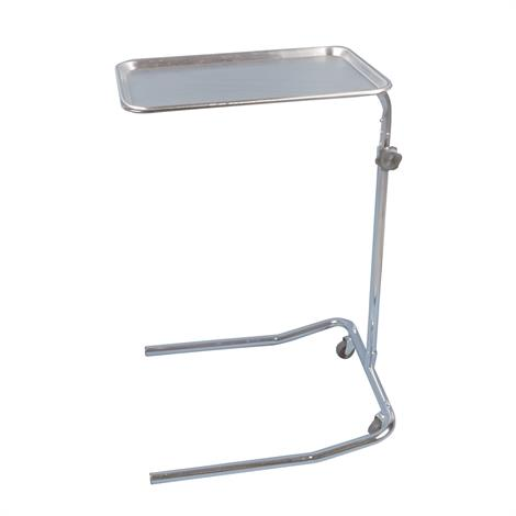 Drive Mayo-Instrument Single Post Stand,Chrome,Each,13035