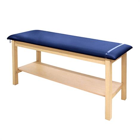 Hausmann 4024G Green-Line H-Brace Treatment Table With Shelf,0,Each,4024G