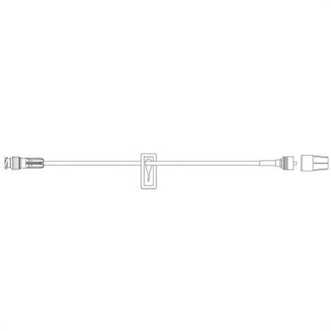 "Becton Dickinson SmartSite Hep Lock Set,6"" Tubing,100/Case,20039E"