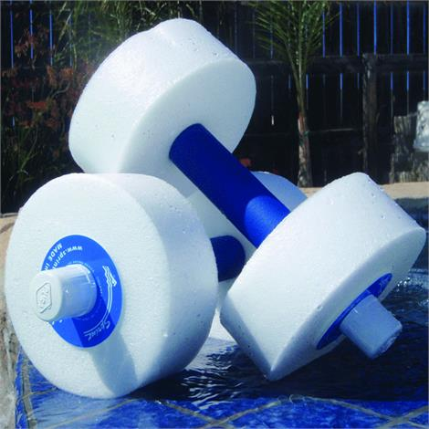"Sprint Aquatics Medium Resistance 12 Inch Disc Hand Bells,Size Of Foam: 6"" X 2.25"",Pair,Spa770"