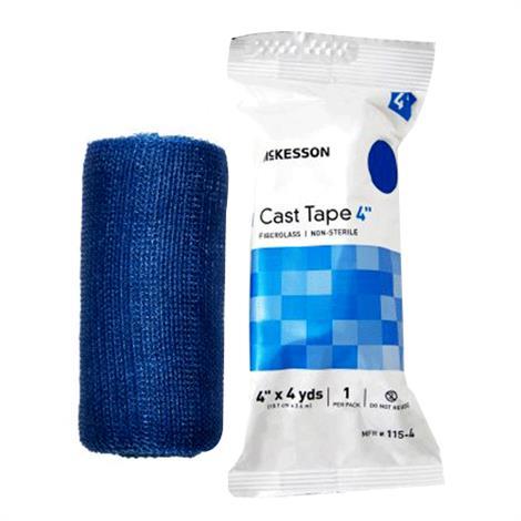 McKesson Fiberglass Cast Tape - Blue,2 Inch 12 Foot,10/Pack,115-2B
