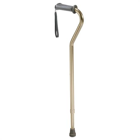 """Complete Medical Ortho Grip Offset Cane,42""""L x 9""""W x 5""""H,Each,1608A"""