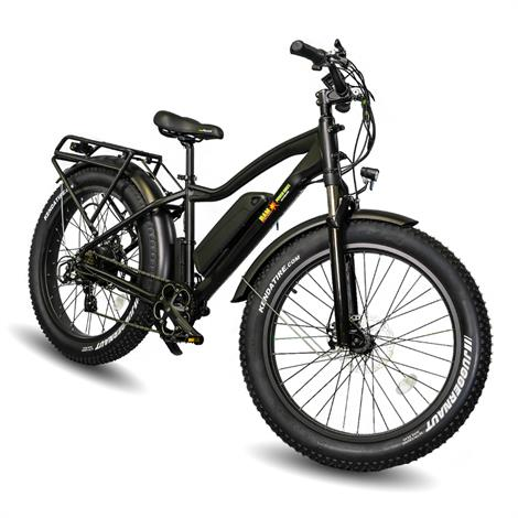 EWheels BAM EW-Supreme Electric Bike,Black,Each,BAM-SUPREME BLK