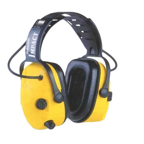 Bilsom Impact Electronic Earmuff Headphone,Helmet Mount,Each,HC-BIL708