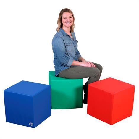 "Childrens Factory 16 Inch Teachers Cubes in Polyurethane,16"" x 16"" x 16"",Each,CF805-038"