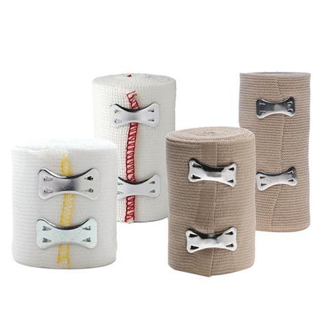 Medline Non- Sterile Sure Wrap Elastic Bandage,3 x 5yds,Beige,50/Case,MDS055003