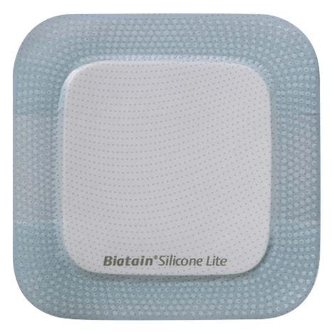 "Coloplast Biatain Silicone Lite Foam Dressing,3"" x 3"" (7.5cm x 7.5cm),10/Pack,33444"