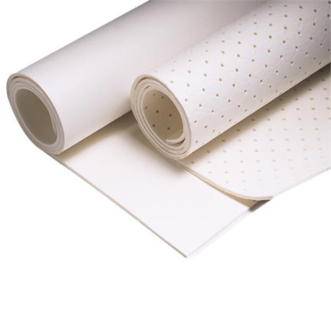 """Luxafoam Plasticized PVC Closed-Cell Self-Adhesive Padding,Perforated,1/8"""" Thick x 20"""" x 40"""",Each,NC88553"""