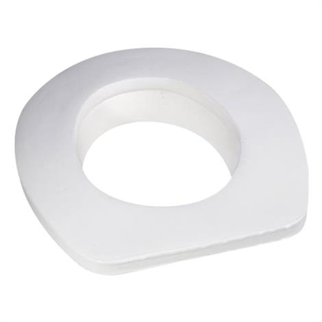 Danmar Toilet Seat Cover with Reducer Ring,Oval (Open Front),Each,6850