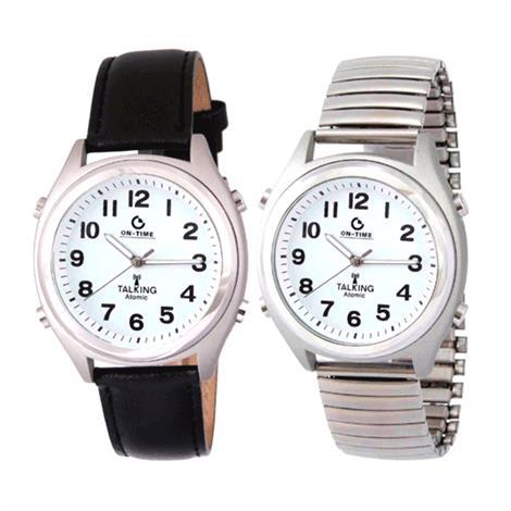 """Atomic Unisex Watch,1.5"""" Diameter,Each,81510858"""