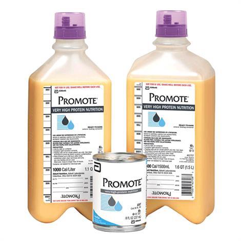 Abbott Promote High-al Drink,Ready-to-Drink,Vanilla Institutional,8fl oz (237ml),Can,24/Case,64834