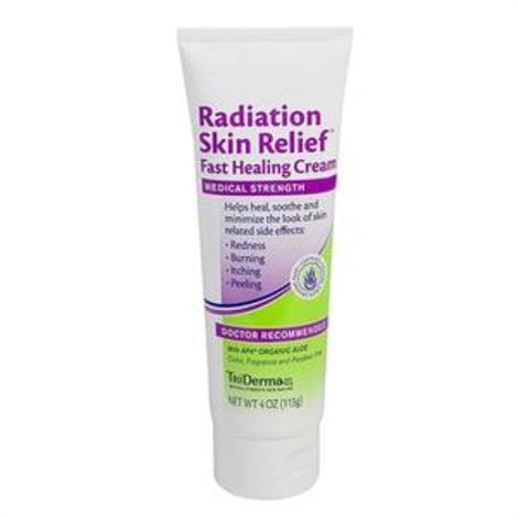 Genuine Virgin Aloe Radiation Skin Relief Fast Healing Skin Cream,4 oz,Each,95045