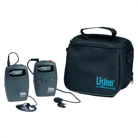 Listen Personal FM System,72MHz with LR400 Receiver,Each,LT-PVPKIT