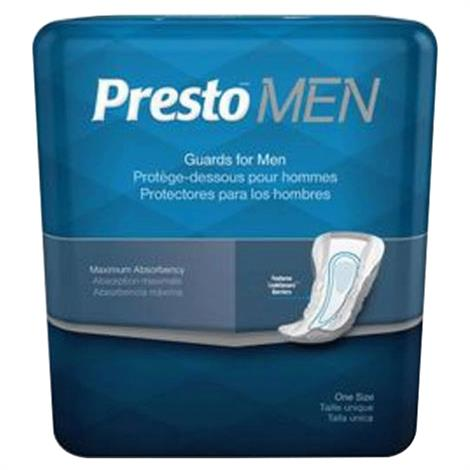 Presto Guard Incontinence Pad for Men - Maximum Absorbency,Pad Length: 12 Long,14/Pack,BCM31301