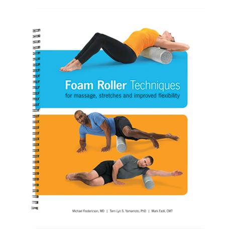 OPTP Foam Roller Techniques Book By Dr. Michael Fredericson,Book on Foam Roller Techniques,Each,8740-2