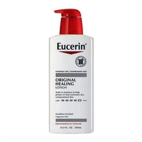 Beiersdorf Eucerin Original Healing Lotion,16.9 oz,Each,11020