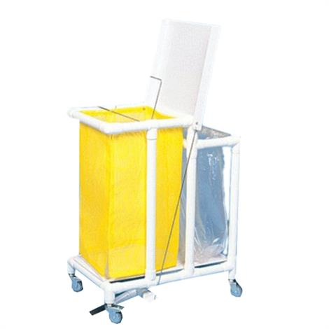 Duralife Footpedal Laundry Hamper And Waste Collection Combo,0,Each,775-11