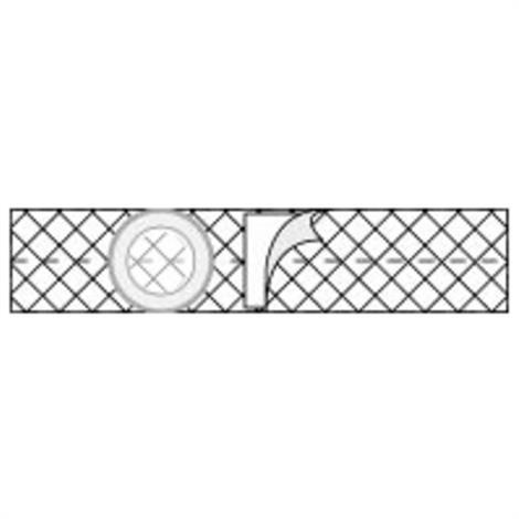 Nu-Hope Nu-Form 3 Inches Cool Comfort Elastic Ostomy Support Belt,0,Each,0