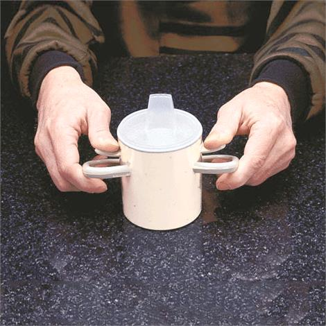 Maddak Arthro Thumbs-Up Cup,With lid,Each,F745720001