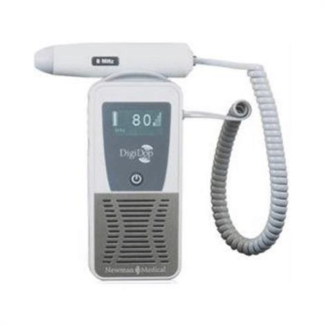 Newman Medical DigiDop Display Digital Doppler,Doppler with 2MHz Obstetrical Probe and Recharger,Each,DD701D2
