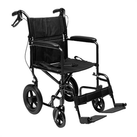Graham-Field Everest and Jennings Deluxe Aluminum Transport Chair,Black,Each,EJ870-1
