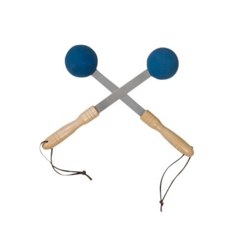 Bongers Percussion Massager,Blue,Pair,14-1410