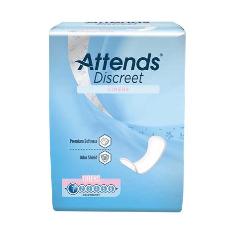 """Attends Discreet Panty Liners,Liners 6"""",28/Pack,24Pk/Case,ADLINER"""