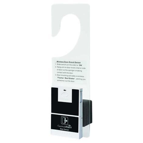 """Serene Innovations CentralAlert Door Hanger With Door Knock Sensor,Dimensions: 2.5"""" x 3.8"""" x 1"""",Each,CA-DXH HC-CADXH"""