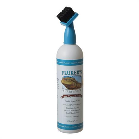 Flukers Super Scrub with Organic Cleaner,16 oz,Each,44003