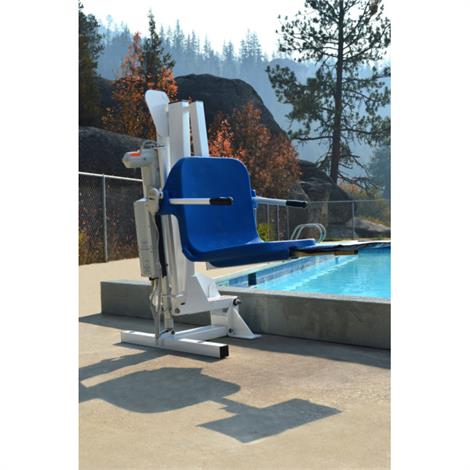 """Aqua Creek Ambassador Pool Lift Anchor,Anchor Kit,Pavers,3-Point with Jig and 8"""" Inserts,Each,F-910SAJP-8"""