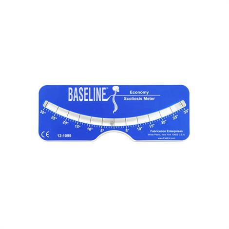 "Baseline Plastic Scoliosis Meter,3.5"" x 7.5"",Each,12-1099"