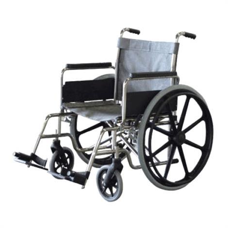"Aqua Creek Stainless Steel Non-Folding Aquatic Wheelchair,22"" SS HD Non-Folding Aquatic Wheelchair,Each,F-22SSWC"