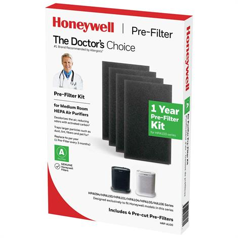 Honeywell True Hepa Carbon Prefilter,True Hepa Carbon Prefilter,Each,#847102014098