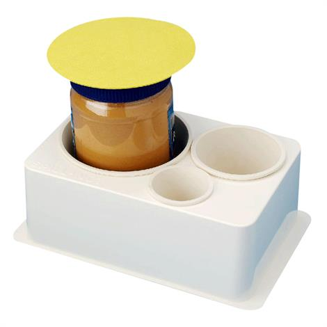 Spill-Not Jar and Bottle Opener,With Lid Opener,Each,3080