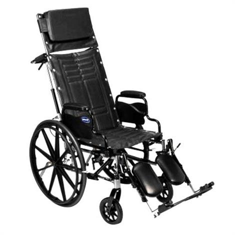 "Invacare Tracer EX2 20"" x 16"" Frame with Permanent Arm Wheelchair,Seat 20""W x 16""D,Each,9153645182"
