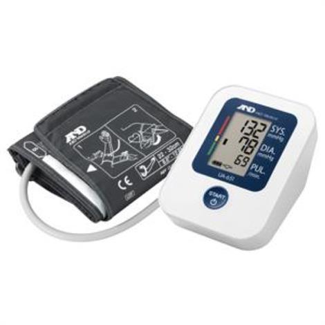 A&D Medical Upper Arm Pressure Monitor, Pressure Monitor,Each,UA651