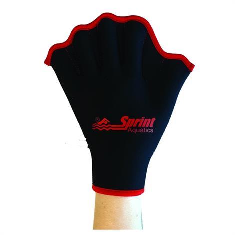 Sprint Aquatics Velcro All Neoprene Gloves,Large,7.5 To 8.5,Pair,Spa783