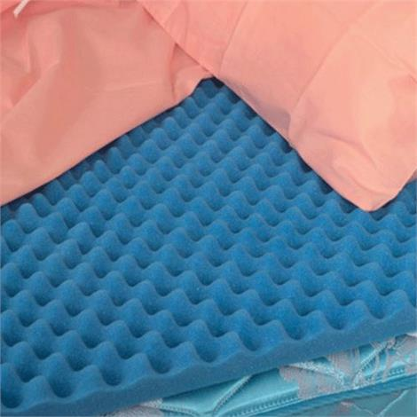 Mabis DMI Hospital Bed Size Convoluted Bed Pads,33 x 72 x 2,Each,552-8002-0000