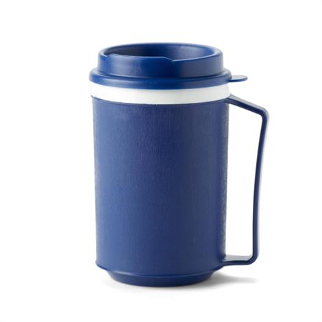 Medline Mug with Tumbler Lid,12oz,Each,MDSR000862