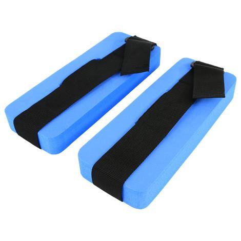 CanDo Aquatic Ankle Cuffs,Blue,Pair,#20-4040B