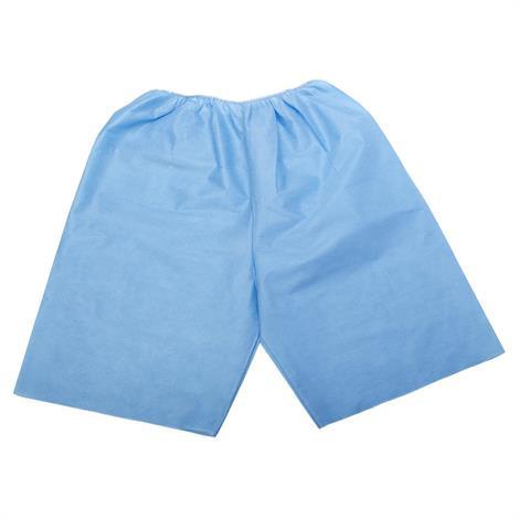 Medline Disposable Exam Shorts,Blue,X-Large,30/Case,NON27209XL MINON27209XL