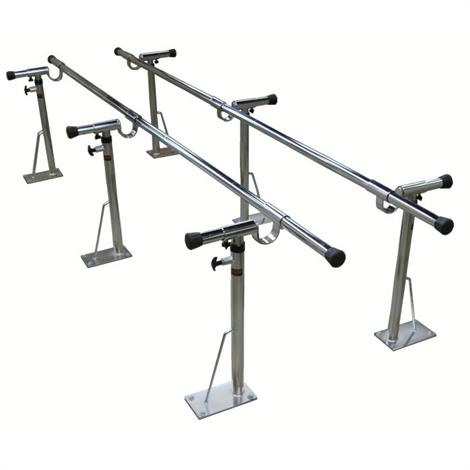 Bailey Adjustable Height and Width Bariatric Parallel Bars,10ft Long,Each,4530