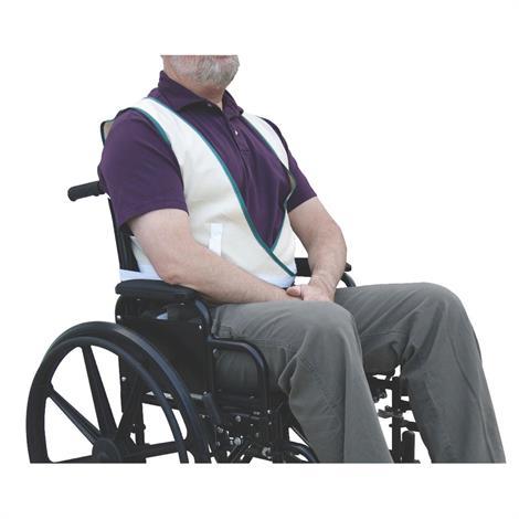Medline Economy Safety Vests,Large- 161-200 lbs,6/Pack,MDT828024
