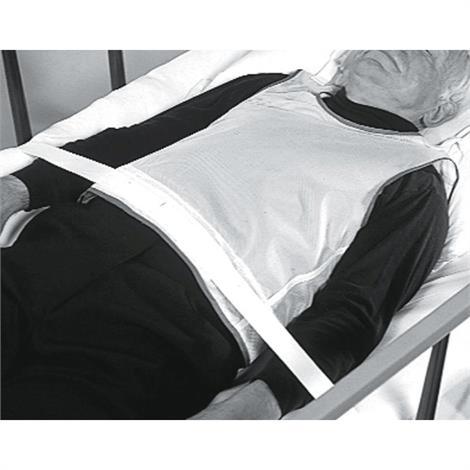 Medline Tie-Back Patient Safety Vests,Large- 161-200 lbs,6/Pack,MDT828004