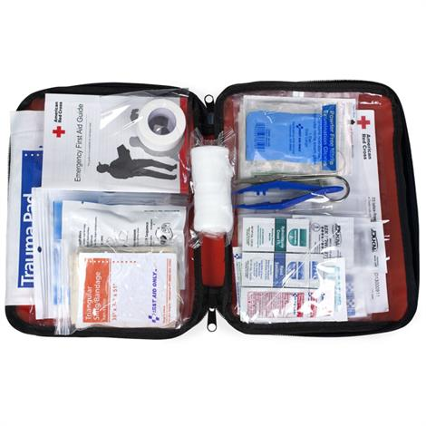 ACME United American Be Red Cross Ready First Aid Kit,73 Pieces,Each,9165-RC