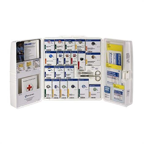 ACME United SmartCompliance General Business First Aid Cabinet,Large, 206 Pieces,Each,1000-FAE-0103 - from $139.99
